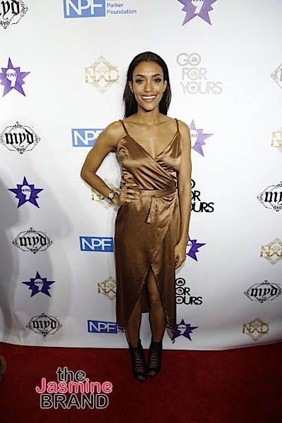 HOLLYWOOD, CA - DECEMBER 05: Actress Annie Ilonzeh seen at Hill Harper & Nate Parker 9th Annual Manifest Your Destiny Toy Drive & Fundraiser at the W Hotel on Tuesday, December 5, 2016 in Hollywood, California. (Photo by A Turner Archives)
