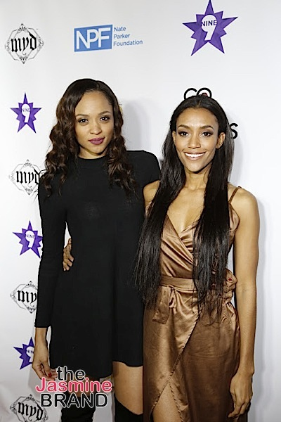 HOLLYWOOD, CA - DECEMBER 05: Actress Sal Stowers and Annie Ilonzeh seen at Hill Harper & Nate Parker 9th Annual Manifest Your Destiny Toy Drive & Fundraiser at the W Hotel on Tuesday, December 5, 2016 in Hollywood, California. (Photo by A Turner Archives)