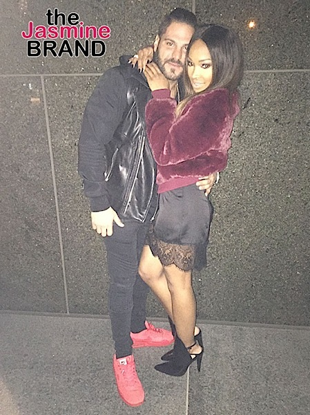 "Khloe Kardashian's BFF Malika Haqq Dating ""Jersey Shore's"" Ronnie Magro [Photos]"