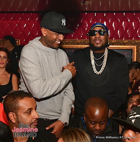 Lil Wayne & Jeezy Party At Compound [Photos]