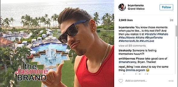 David posts a photo in Hawaii