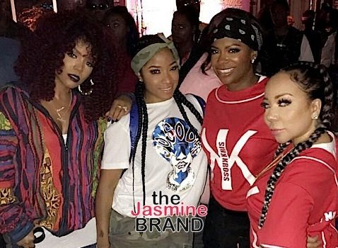 Lil Wayne & Toya Wright's Daughter Reginae Hosts 90's Themed B-Day Bash: Bow Wow, Tiny Harris, Kandi Burruss, Lloyd Spotted [Photos]
