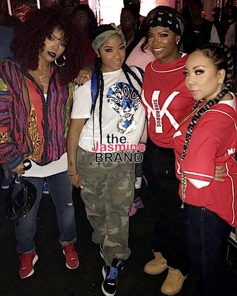 Lil Wayne & Toya Wright's Daughter Reginae Hosts 90's Themed B-Day Bash: Bow Wow, Tiny Harris, Kandi Burruss, Lloyd Spotted [Photos]