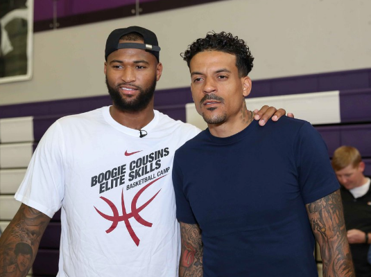NBA Ballers Matt Barnes & DeMarcus Cousins Sued For Allegedly Choking, Kicking & Punching Clubgoers