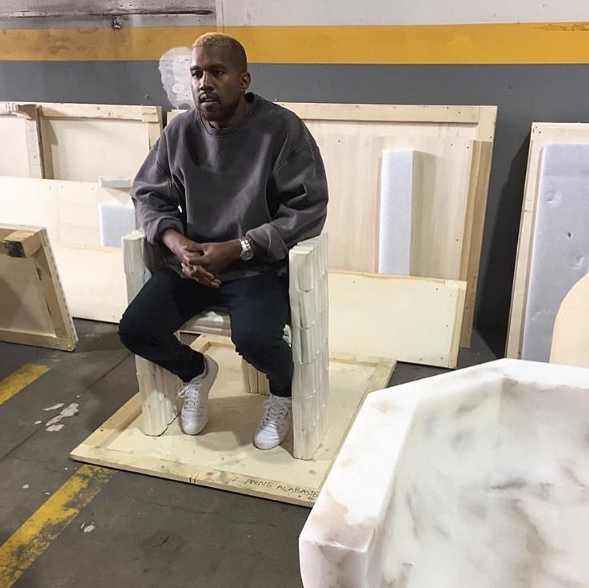 Kanye West Makes 1st Appearance Since Hospitalization [Photo]