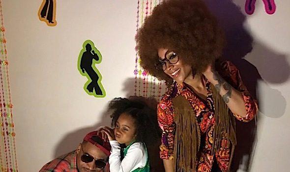 Mimi Faust & Stevie J Throw 70's Birthday Party For Daughter Eva [Photos]