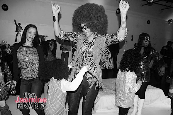 Mimi Faust & Stevie J Throw 70's Birthday Party For Daughter Eva [Photos]