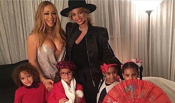 Nicki Minaj Continues Her Turks & Caicos Vacay + Beyonce & Blue Ivy Visit Mariah Carey [Photos]