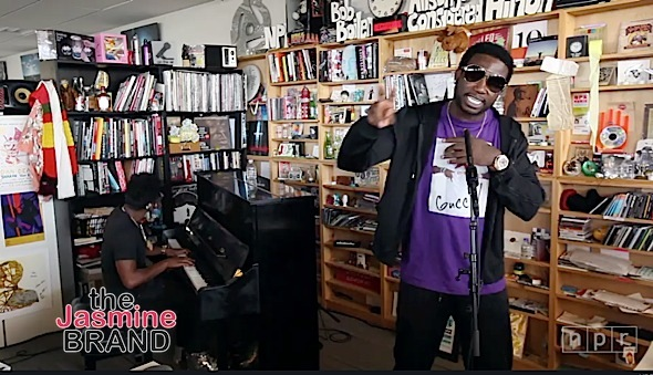 Watch Gucci Mane's Tiny Desk Performance [VIDEO]
