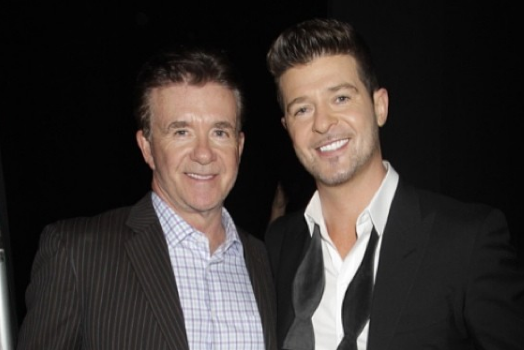 Robin Thicke's Father, Alan Thicke, Dies [Condolences]