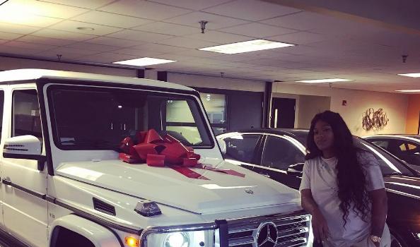 Joseline Hernandez's Push Gift Is A Brand New G-Wagon! [VIDEO]