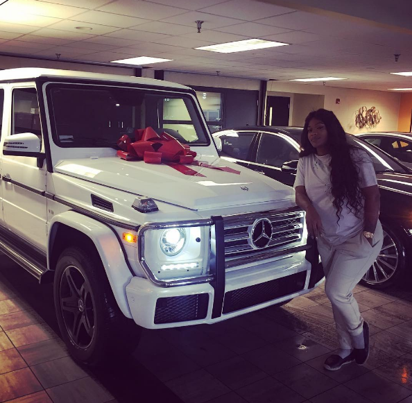 Joseline Hernandez's Push Gift Is A Brand New G-Wagon! [VIDEO]