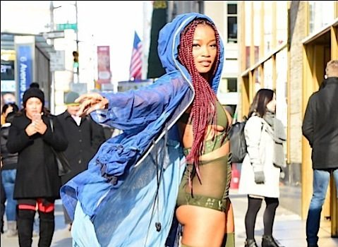 Keke Palmer Makes NYC Sidewalk Her Runway [Photos]