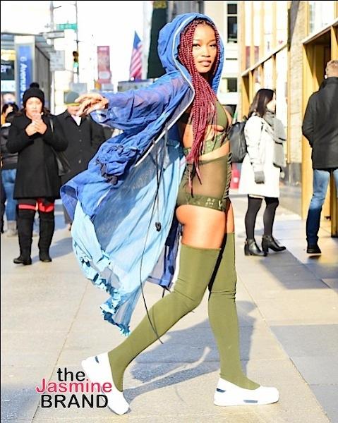 Keke Palmer Makes NYC Sidewalk Her Runway [Photos]