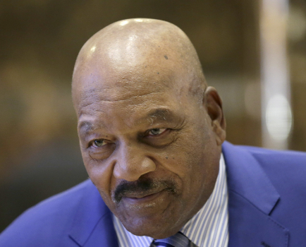 Jim Brown: The three greatest people in my life were white. [VIDEO]