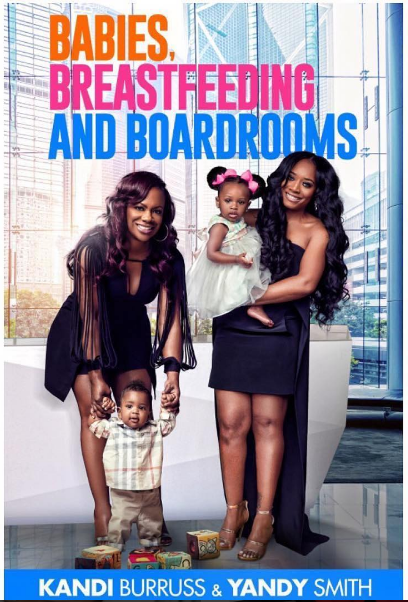 Kandi Burruss & Yandy Smith Reveal New Book For Working Moms