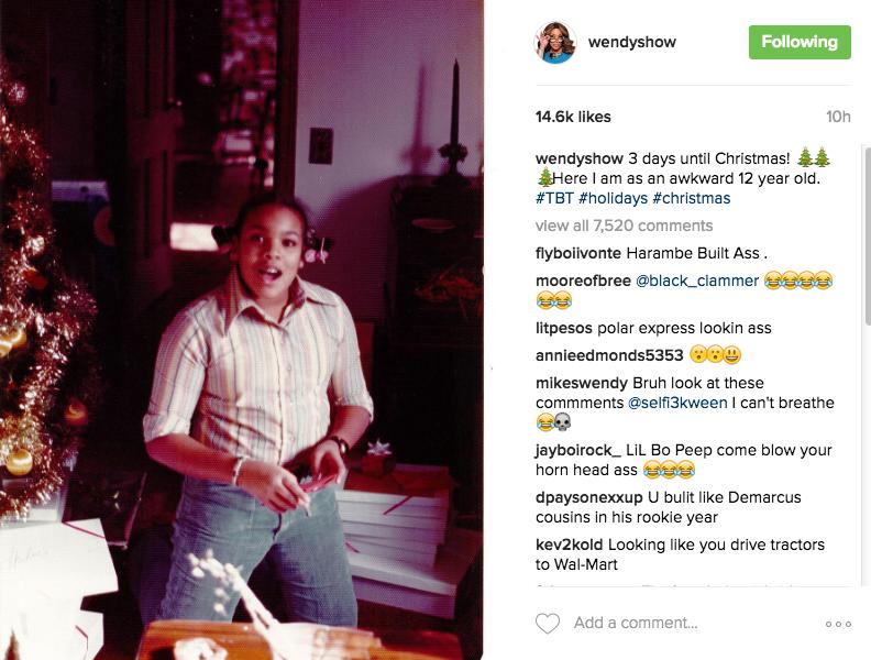 Wendy Williams Admits She Was Awkward At 12 [Photo]