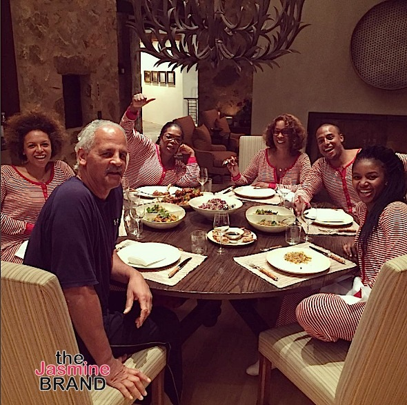 Stedman Graham, Oprah Winfrey, Gayle King and their besties dine and hit the slopes during Christmas.