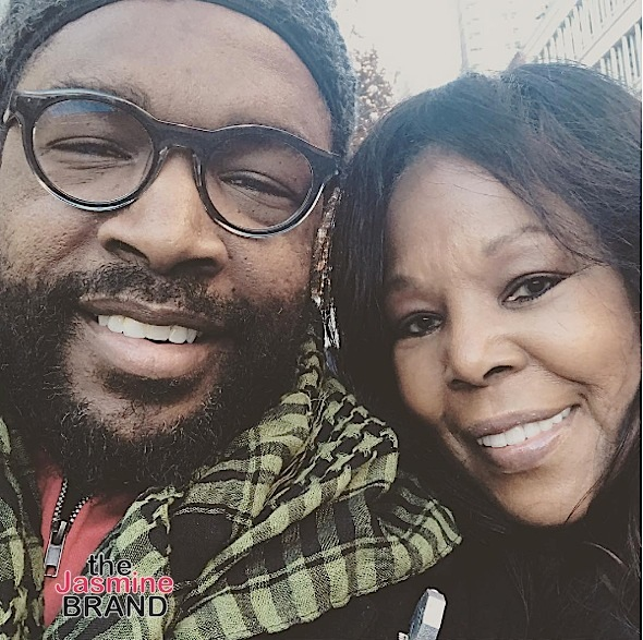 Questlove spends the holiday with his mother, who is gorgeous!