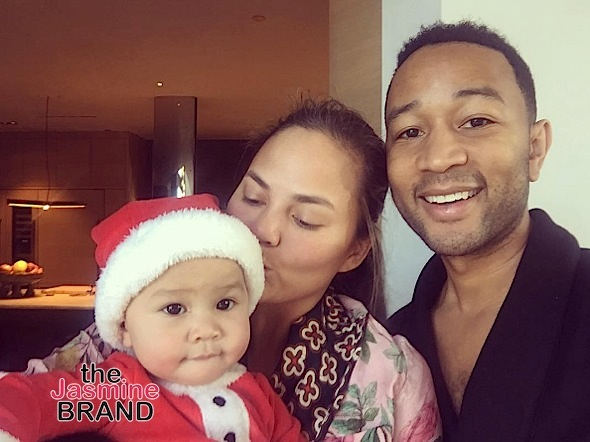 Baby Luna steals the show from parents Chrissy Teigen and John Legend.