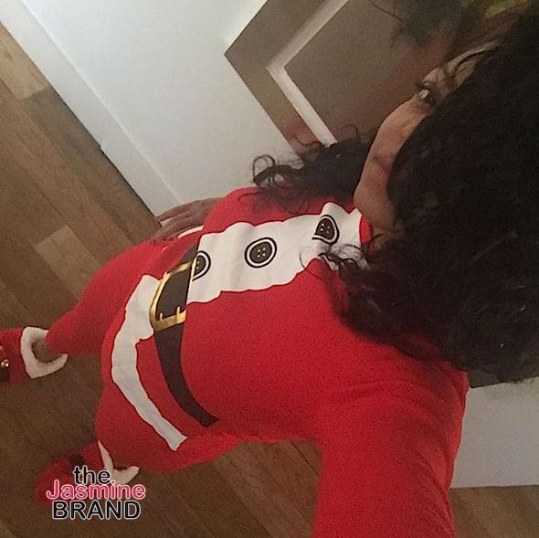 Taraji P. Henson is a sexy santa!