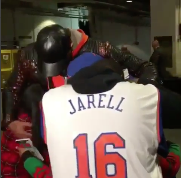 NBA Baller Carmelo Anthony Gifts Cancer Patient & Family With New Car