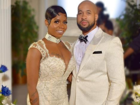 Fantasia & Husband Renew Wedding Vows [Photos]