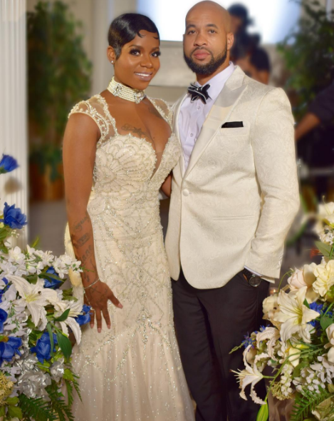 Fantasia & Husband Renew Wedding Vows [Photos]