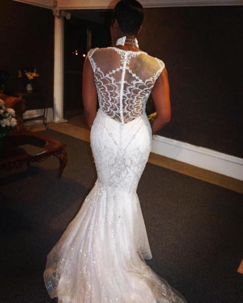 Fantasia Husband Renew Wedding Vows Photos Thejasminebrand