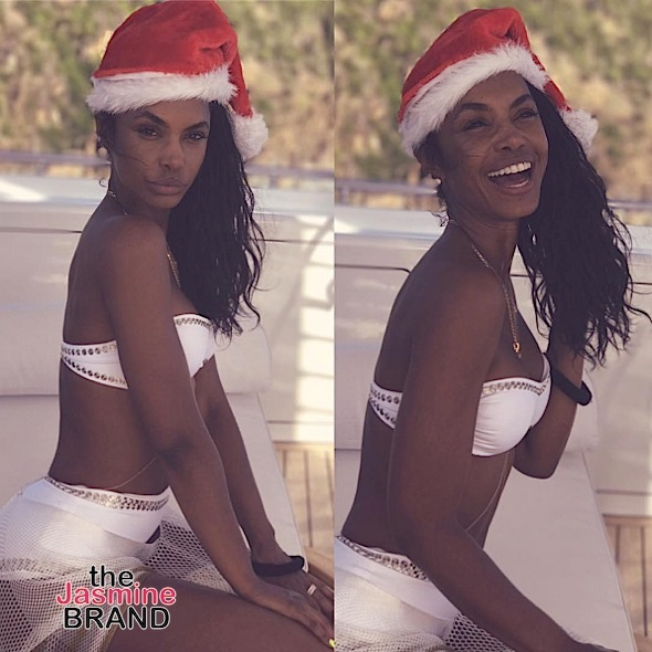 Kim Porter Serves Mom Goals + Diddy, French Montana & Family Vacay In St Barts [Photos]