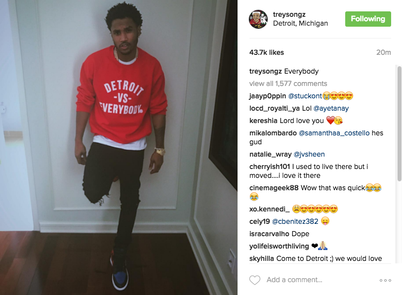 Trey Songz Released From Jail, Charged With Assault & Resisting Arrest