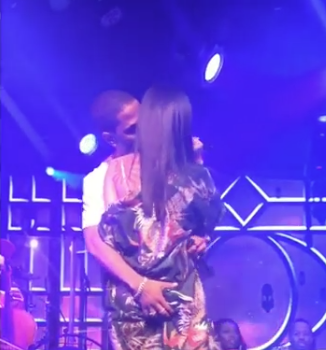 Big Sean Fondles Jhene Aiko's Booty On Stage [VIDEO]