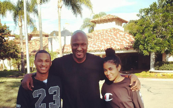 Lamar Odom Shares First IG Post Since Rehab [Photo]