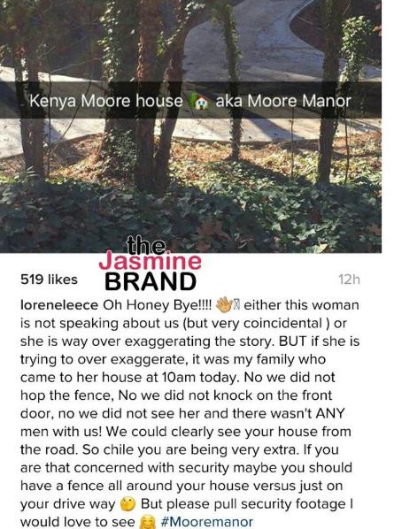 Kenya Moore Pulls Out Gun, Offers Reward For Trespassers [Photos]