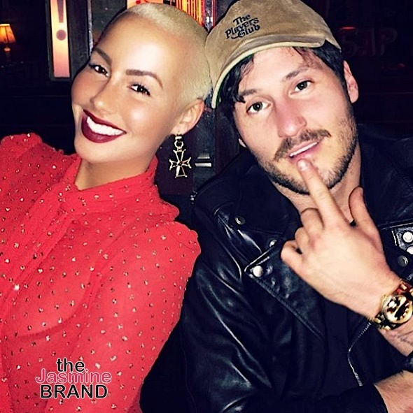Amber Rose Returns To Social Media To Gush Over Boyfriend Val Chmerkovskiy