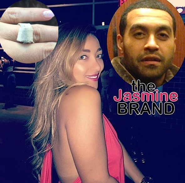 1st Look! Apollo Nida Gives Fiancee Engagement Ring Made From Paper Towels [Photo]