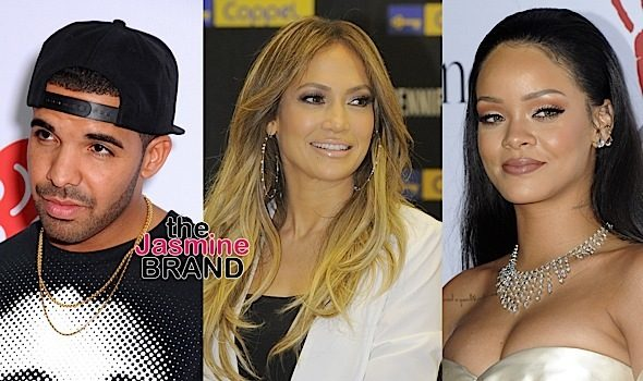 Rihanna Unfollows J.Lo On Social Media Over Drake