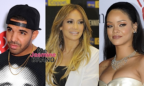 Rihanna Allegedly Unfollows J.Lo Over Drake
