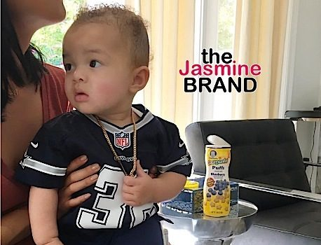 Draya Michele Debuts Son, Jru [Photos]