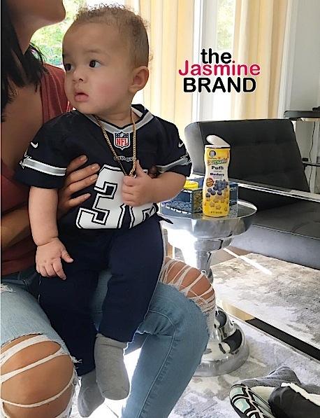 Draya Michele Debuts Son, Jru [Photos]