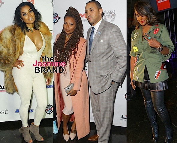 Karlie Redd, Tameka Foster, Eva Marcille & Boyfriend Michael Sterling Spotted at Charity Fashion Event [Photos]