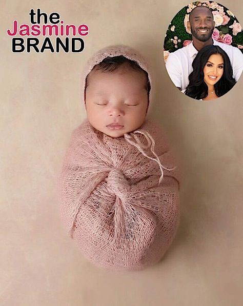 Vanessa & Kobe Bryant Debut Newborn Daughter [Photo]