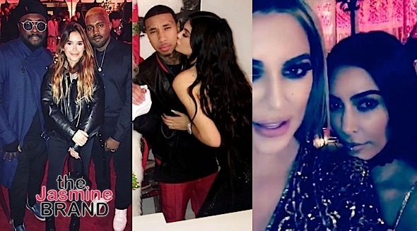 Inside Kris Jenner's Epic Christmas Eve Bash: Kim, Kanye, John Legend, Tyga Attend + Rob Kardashian & Blac Chyna M.I.A. [Photos]