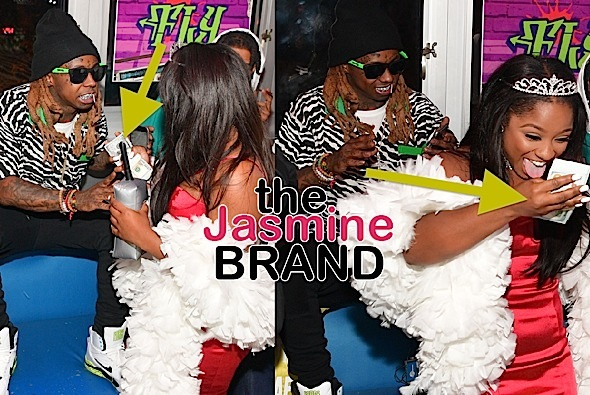 "Lil Wayne Gives Daughter $20,000 For Birthday! + Reginae Carter Films ""Growing Up Hip Hop: Atlanta"" At Party"