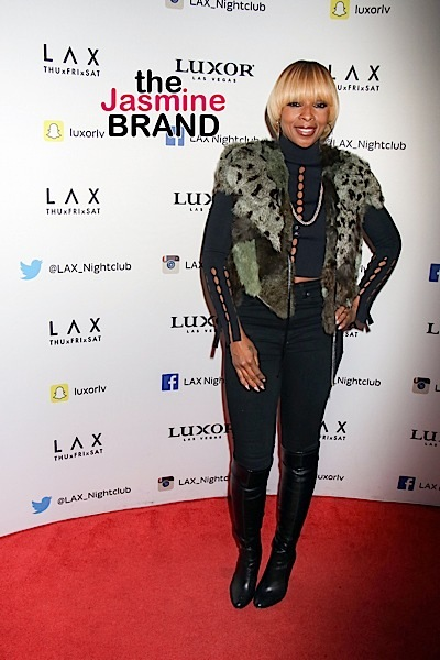 Mary J. Blige Shows Us What 45 Years Young Looks Like! [Photo]