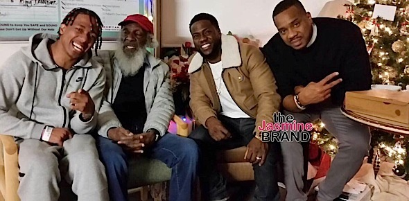 Vanessa Bryant Debuts Newborn, Kevin Hart Visits Nick Cannon In Hospital + Eddie Murphy's Children Are Picture Perfect [Photos]