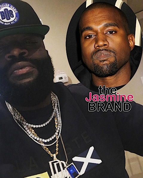 Rick Ross: Kanye Pulled A Publicity Stunt [VIDEO]
