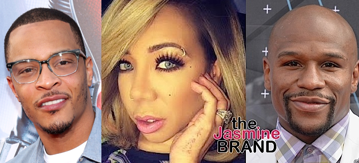 Tiny Says T.I. Has Been Hurting Her For Years, Defends Video With Floyd Mayweather