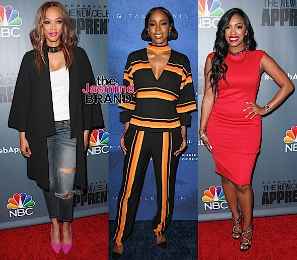 Tyra Banks, Kelly Rowland, Porsha Williams