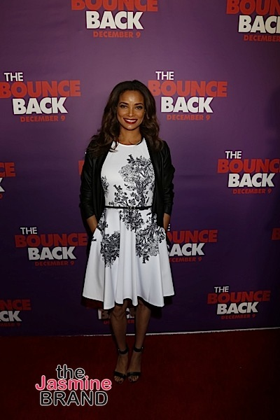 _ _ _ _ attends the LA Premiere of The Bounce Back (Photo by A Turner Archives)